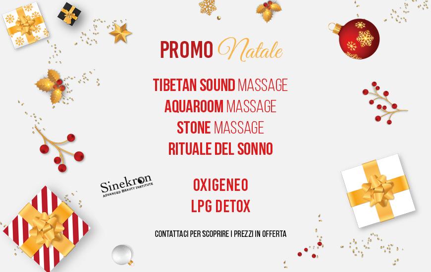 Promo Natalizie su Massaggi Rilassanti e Trattamenti Estetici