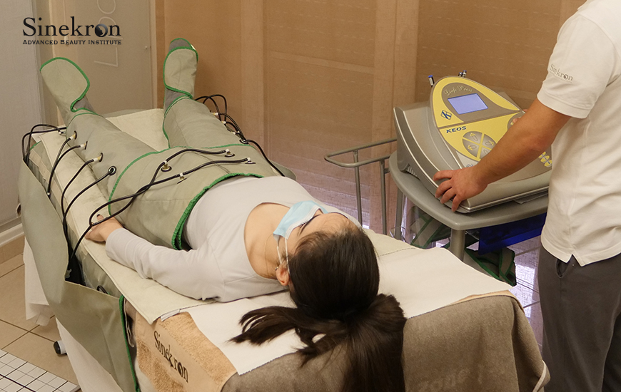 Pressoterapia per combattere inestetismi e cellulite in provincia di Avellino